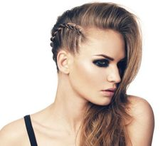We all love a good undercut matched with super long hair... but what if you don't want to cut your hair? Check our faux undercut braid tutorial!