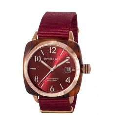 Clubmaster Gold HMS Gold – red sunray dial