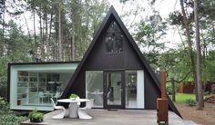 Designity vous présente une maison d'architecte design à la forme particulièrement originale !  #architecte #maison #design
