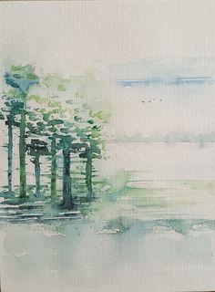 Een bos, ergens