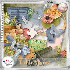 New Collection- Hello Spring by S.Designs  Available @ http://scrapfromfrance.fr/shop/index.php?main_page=product_info&cPath=88_174&products_id=9776