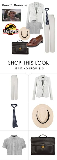 """Donald Gennaro - Jurassic Park"" by ashleigh-kuzio on Polyvore featuring Jacques Vert, Marc by Marc Jacobs and Hermès"