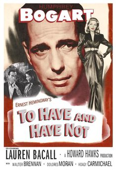 Humphrey Bogart  Lauren Bacall  To Have and Have Not  by jangoArts