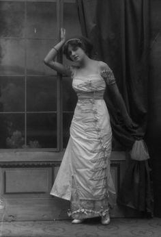 Gladys Cooper by Bassano, 1910    Gladys Cooper started her career at age 6 as a photographic model before becoming a stage actress as a teenager. She transitioned to silent film, then talkies and, later, television.
