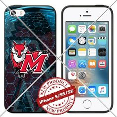 New iPhone SE Case , 5/5s TPU Case Marist Red Foxes Logo…