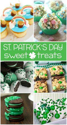 20 YUMMY ST. PATRICK'S DAY DESSERTS - Kids Activities #funfood #kidsfood  #stpaddysday #stpatricksday #stpatricks #saintpatricksday #holiday #familyfun #snacks #treats #sweets #desserts #recipes #kids