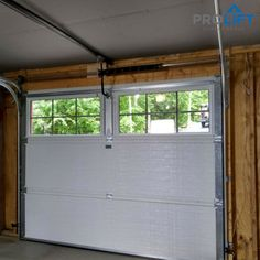"""What difference can a new garage door with insulation make?  Well, A WHOLE LOT when it comes to year-round temperature control.  Here's what these St. Louis homeowners had to say... """"With the new garage door's tight fit and built-in insulation,  the garage is warmer and there's no more frost inside even on the coldest days. The (garage) interior is bright because of the windows and the doors are much more quiet. Thanks for all the help and great tips."""""""