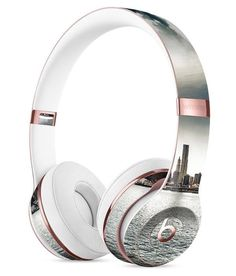 Vivid Cloudy Sky Over The City Skyline Full-Body Skin Kit for the Beats by Dre Solo 3 Wireless Headphones