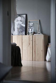 Ivar cabinet natural