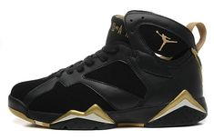b5b82c38930584 2018 Buy Air Jordan 7 VII Retro Gold Moments Olympic Tongue Red White Blue  Size 10