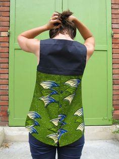 Dear & Doe pattern, upcycle shirt