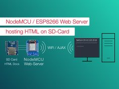 Running a web server on the NodeMCU storing the documents on the SD-Card instead of the limited FLASH RAM (without Arduino) By Andreas Herz.
