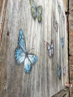 Butterfly graffiti multi