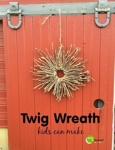Homemade Twig Wreath