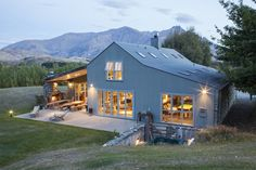 Search residential properties for sale on Trade Me Property, New Zealand's number one real estate website. Farm Barn, Metal Buildings, Barndominium, Luxury Real Estate, Property For Sale, Cabin, House Styles, Places, Outdoor Decor