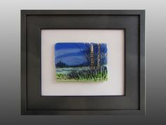 The Clearing, fused glass art by Alice Benvie Gebhart