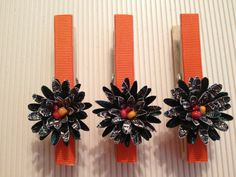 Fall Holidays Decorative Clothes Pins Banner by StuffDepot on Etsy, $2.49