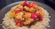 Hähnchen süß-sauer wie beim Chinesen, ein raffiniertes Rezept aus der Kategorie Reis/Getreide. Bewertungen: 246. Durchschnitt: Ø 4,8.