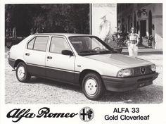 Alfa Romeo 33 Gold Cloverleaf (Geneva, 1983)