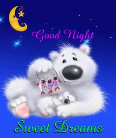 #Whatsapp a cute #goodnight wish to your loved ones with this #ecard.