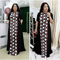 African Dresses For Women Dashiki Summer Plus Size Dress Ladies Traditional African Clothing Fairy Dreams – Online Souqa African Fashion Ankara, Latest African Fashion Dresses, African Print Fashion, Women's Fashion Dresses, Women's Dresses, Stylish Dresses, Ankara Long Gown Styles, African Dresses For Women, African Attire