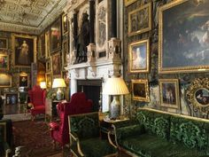 King James Drawing Room Hatfield England The Room Takes Its Name