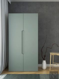 Our replacement Ikea Pax Wardrobe boast perfect straight edges, clean lines and a minimalist appearance. Compatible with the Ikea Pax Wardrobe. Living Room Tv Unit Designs, Bedroom Wall Designs, Wardrobe Design Bedroom, Modern Wardrobe, Interior Design Living Room, Room Interior, Wardrobe Handles, Wardrobe Storage, Wardrobe Doors