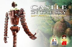 14 Anime LEGO Sets that Need to be Made: Studio Ghibli's Laputa Castle in the Sky LEGO Set