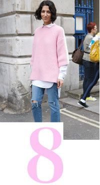 like the oversize sweater look