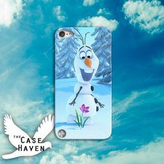 Snowman Disney Frozen Movie Olaf Character Cute by TheCaseHaven, $14.99