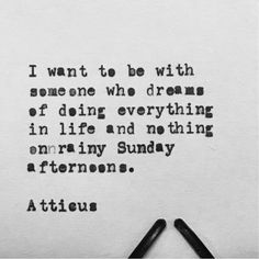 'Sundays' #atticuspoetry #atticus #poetry #poem #loveherwild #sundays @laurenholub