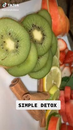 Easy Detox, Healthy Detox, Healthy Smoothies, Healthy Drinks, Smoothie Recipes, Healthy Snacks, Keto Snacks, Tasty Videos, Food Videos