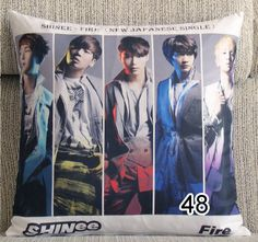 Kpop SHINee fashion FIRE pillow