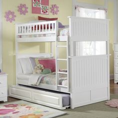 Have to have it. Nantucket Twin over Twin Bunk Bed in the dark wood, but WITH the trundle. i think. Awesome.