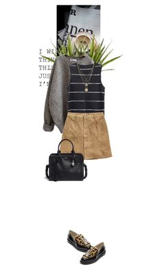 """""""Suede"""" by dancingwithyou ❤ liked on Polyvore featuring H&M, Tommy Hilfiger, Alexander McQueen and LowLuv"""