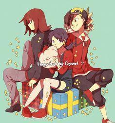 The Johto trio