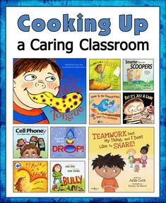 Corkboard Connections: Cooking Up a Caring Classroom - How to use Julia Cook's books to implement class meetings and a blog hop of book reviews and freebies