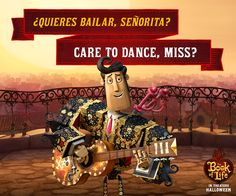 Thought you'd never ask, señor! #TeamManolo #BookOfLife
