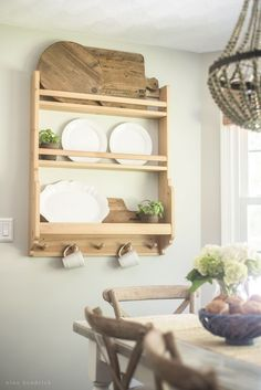 Farmhouse Breakfast Nook Reveal   Create a cozy gathering space in your home.