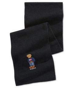 POLO RALPH LAUREN Polo Ralph Lauren Men'S Polo Bear Scarf. #poloralphlauren # hats, gloves