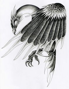 verreaux on deviantArt - Stymphalian Bird. Tags: stymphalian birds, hercules, heracles, herakles,