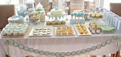 Table settings for baptism | Christening Party Ideas | Best Party Ideas