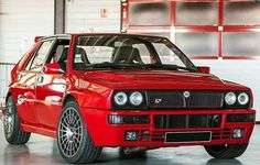 Lancia Delta HF Integrale Fully Red! Original!