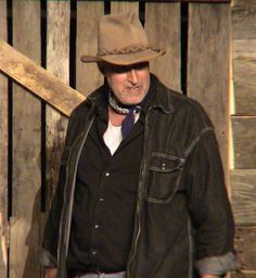 Carlson is the man with the luger that is used to kill candy's dog. carlson kills the dog to put it out of his misery. Big Stomach, Of Mice And Men, The Ranch, Man Humor, Cowboy Hats, Funny Man, Jokes, Farmer, Dog