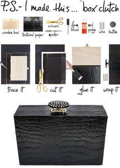 DIY: box clutch