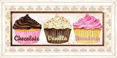 cupcake dekupaj