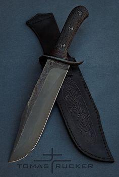 Tomas Rucker Knives   BAHŇÁK