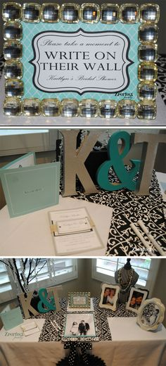 Breakfast at Tiffany's Bridal Shower from Zperfect Party!