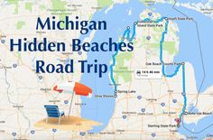 The Hidden Beaches Road Trip That Will Show You Michigan Like Never Before