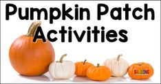 Use the theme of pumpkins to bring learning ALIVE in your classroom! You will love these engaging and meaningful pumpkin themed activities.